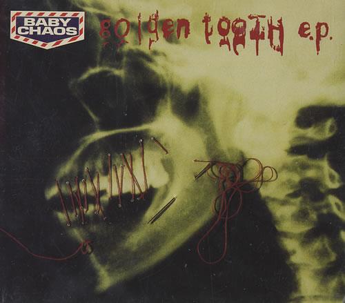 "Baby Chaos Golden Tooth Ep CD single (CD5 / 5"") UK BCSC5GO102493"