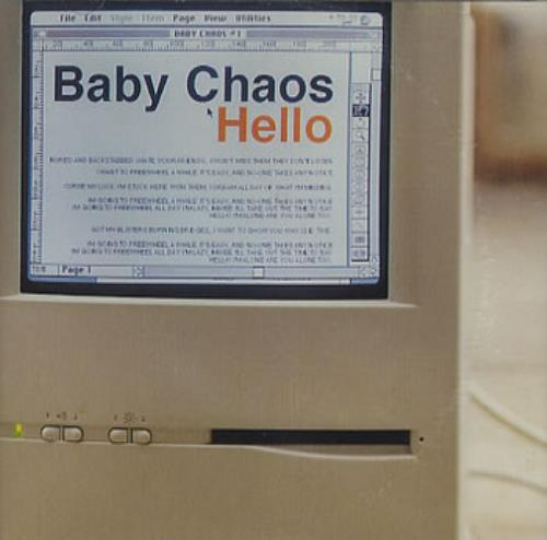 "Baby Chaos Hello CD single (CD5 / 5"") UK BCSC5HE355486"