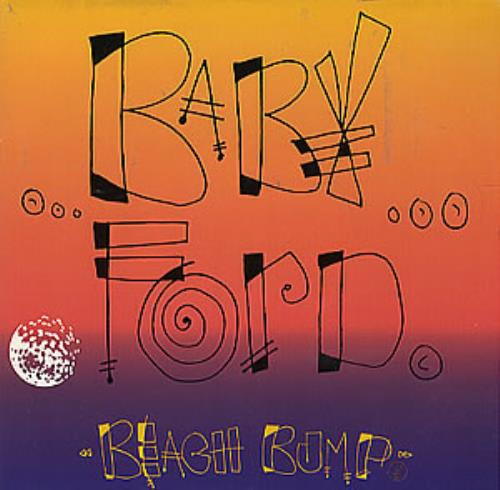 "Baby Ford Beach Bump 7"" vinyl single (7 inch record) UK BBF07BE301373"