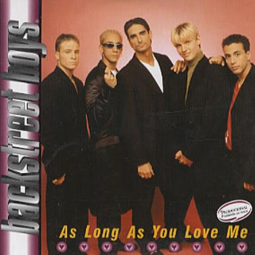 Backstreet Boys - As Long as You Love Me Songtext