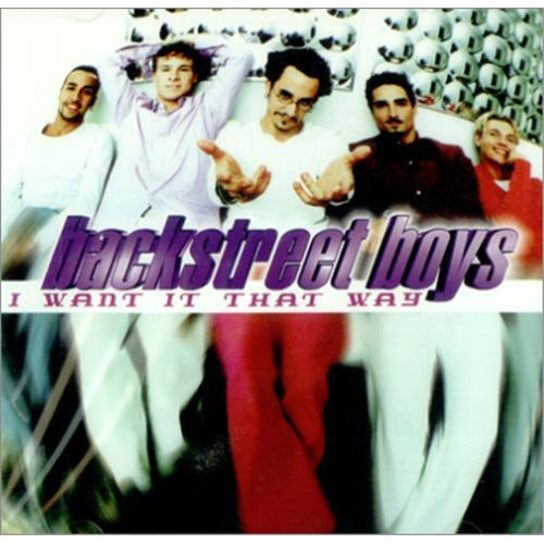Backstreet Boys Asi Lo Quiero Yo I Want It That Way