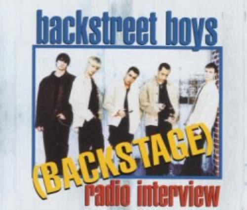 Backstreet Boys Backstage Radio Interview CD album (CDLP) UK BKBCDBA135652