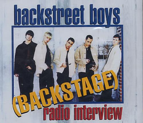 Backstreet Boys Backstage Radio Interview CD album (CDLP) UK BKBCDBA167647