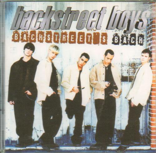Backstreet Boys Backstreet's Back CD album (CDLP) German BKBCDBA91259