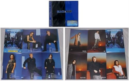 Backstreet Boys Black Amp Blue Poster Booklet Malaysia Cd