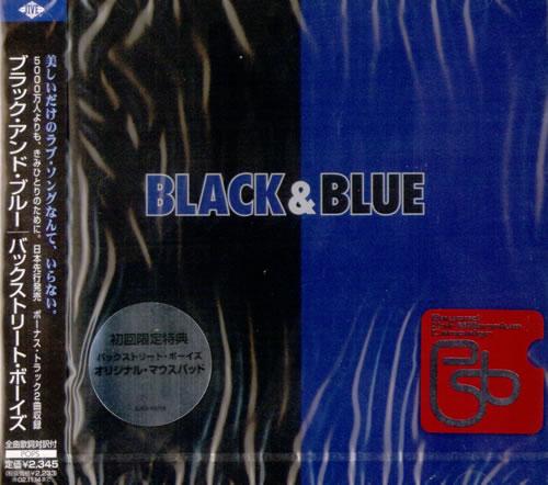 Backstreet Boys Black & Blue CD album (CDLP) Japanese BKBCDBL522569