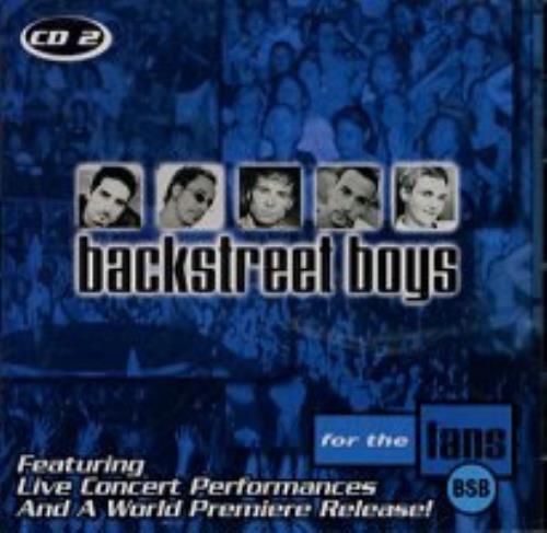 """Backstreet Boys For The Fans - Burger King CD 2 CD single (CD5 / 5"""") US BKBC5FO166515"""