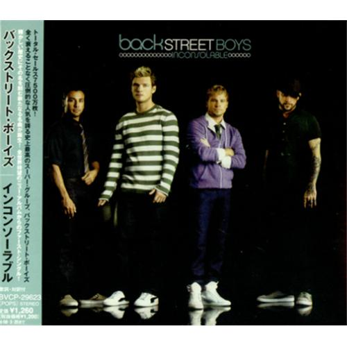 "Backstreet Boys Inconsolable CD single (CD5 / 5"") Japanese BKBC5IN421348"