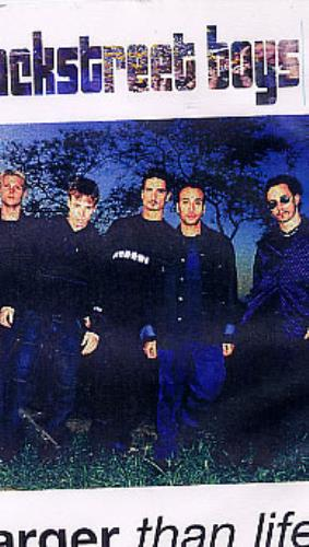 Backstreet Boys Larger Than Life video (VHS or PAL or NTSC) UK BKBVILA146837