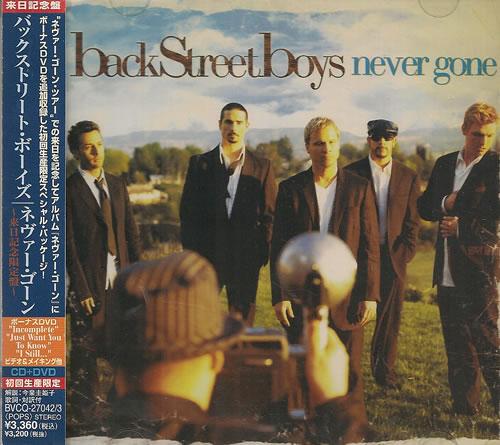 Backstreet Boys Never Gone - Limited Tour Set 2-disc CD/DVD set Japanese BKB2DNE352127