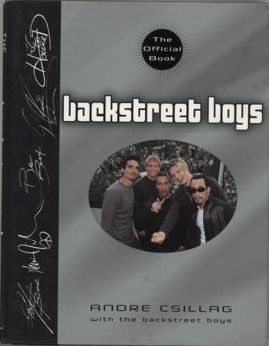 Backstreet Boys The Official Book book US BKBBKTH765703