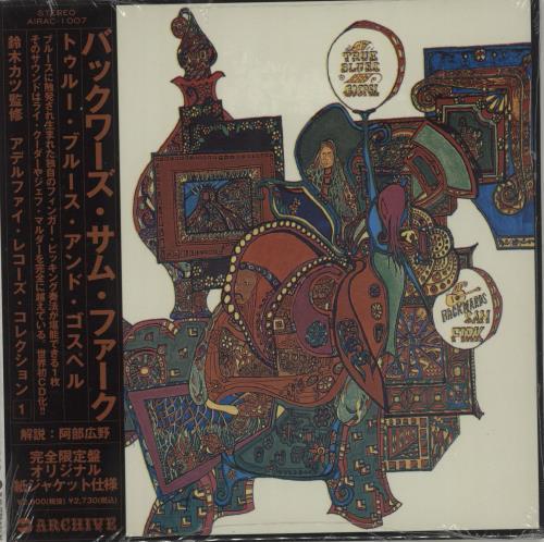 Backwards Sam Firk The True Blues And Gospel CD album (CDLP) Japanese O-CCDTH685114