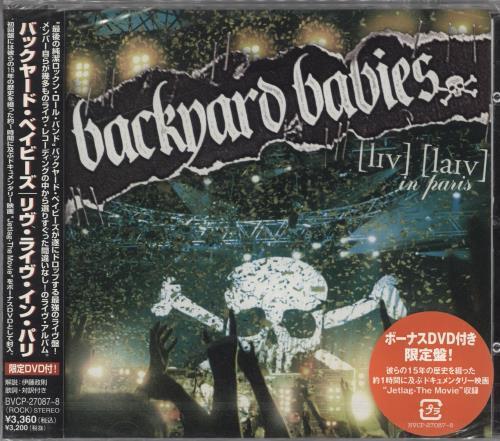 Backyard Babies Live In Paris 2-disc CD/DVD set Japanese YRD2DLI357896