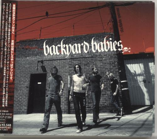 Backyard Babies Stockholm Syndrome CD album (CDLP) Japanese YRDCDST266464