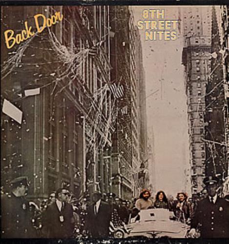 Back Door 8th Street Nites vinyl LP album (LP record) UK BD/LPTH264484