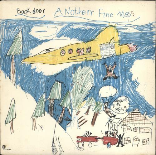 Back Door Another Fine Mess vinyl LP album (LP record) UK BD/LPAN264482