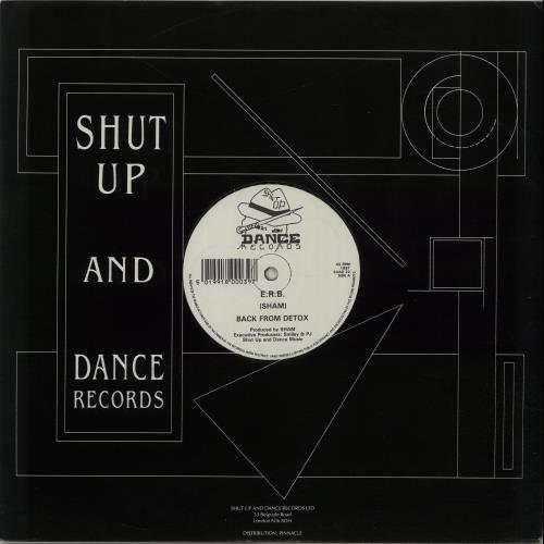 "Back From Detox E.R.B. 12"" vinyl single (12 inch record / Maxi-single) UK IHG12ER654224"