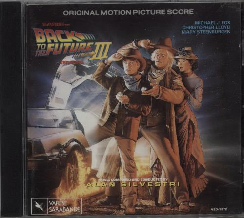 Back To The Future Back To The Future I, II & III 3-CD album set (Triple CD) UK BKF3CBA663659