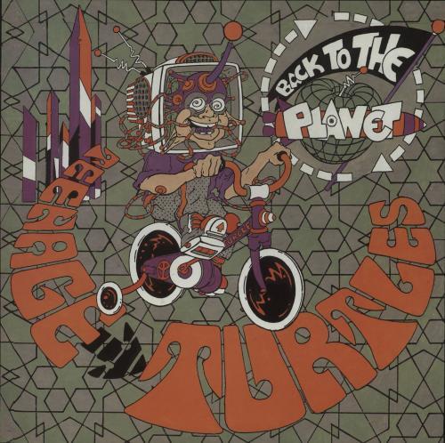 "Back To The Planet Teenage Turtles - Orange Vinyl 12"" vinyl single (12 inch record / Maxi-single) UK BD512TE671316"
