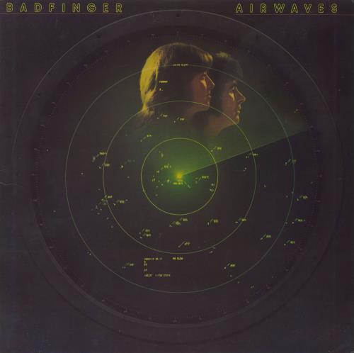 Badfinger Airwaves vinyl LP album (LP record) US BDFLPAI71425