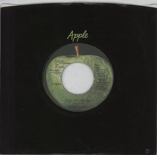 "Badfinger Day After Day 7"" vinyl single (7 inch record) US BDF07DA287980"
