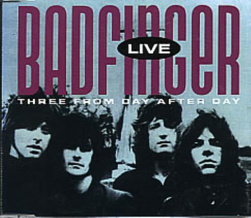 """Badfinger Live - Three From Day After Day CD single (CD5 / 5"""") US BDFC5LI283004"""