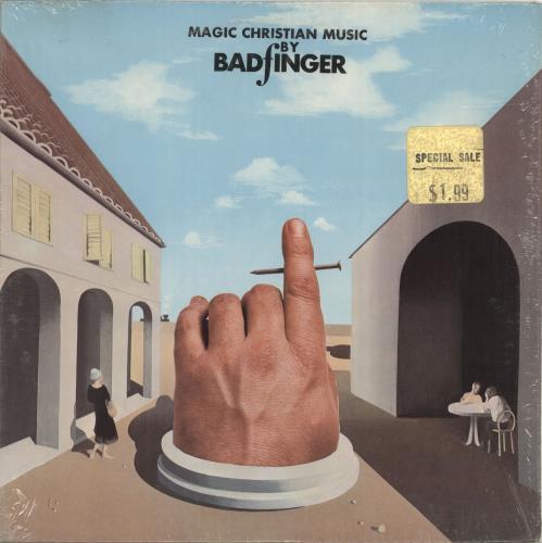 Badfinger Magic Christian Music - Shrink vinyl LP album (LP record) US BDFLPMA586228