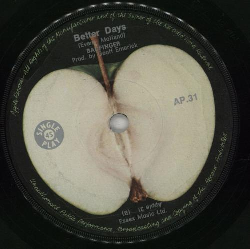 """Badfinger No Matter What 7"""" vinyl single (7 inch record) South African BDF07NO672667"""