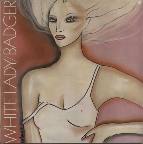 Badger White Lady vinyl LP album (LP record) UK BDGLPWH664278