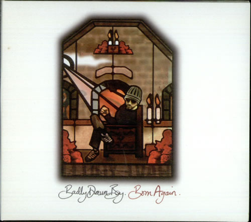 "Badly Drawn Boy Born Again CD single (CD5 / 5"") UK BDWC5BO533739"