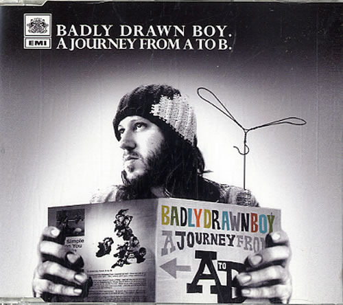 "Badly Drawn Boy A Journey From A To B CD single (CD5 / 5"") UK BDWC5AJ389697"