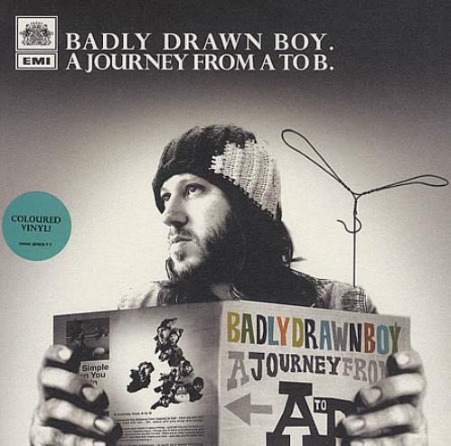 "Badly Drawn Boy A Journey From A To B 7"" vinyl single (7 inch record) UK BDW07AJ389698"