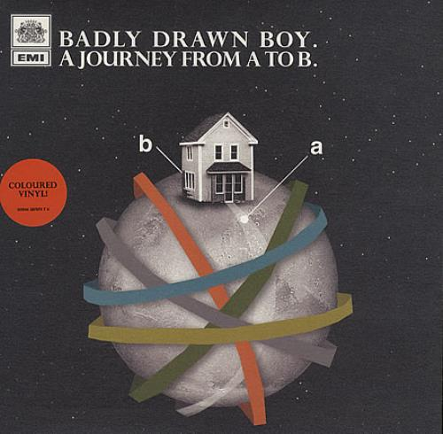 "Badly Drawn Boy A Journey From A To B 7"" vinyl single (7 inch record) UK BDW07AJ389699"
