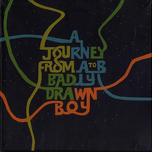 Badly Drawn Boy A Journey From A To B box set UK BDWBXAJ608421