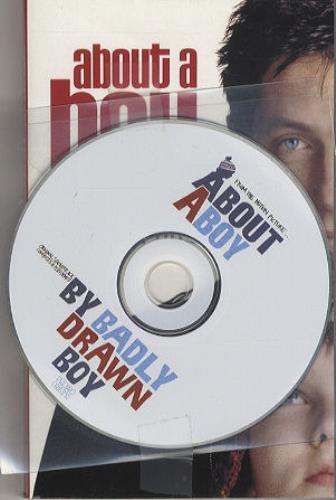 Badly Drawn Boy About A Boy + Book CD album (CDLP) UK BDWCDAB223863