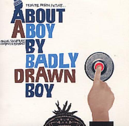 Badly Drawn Boy About A Boy CD album (CDLP) French BDWCDAB262662