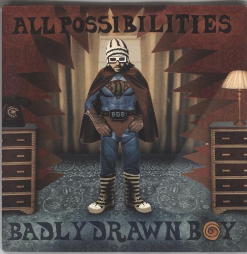 """Badly Drawn Boy All Possibilities 7"""" vinyl single (7 inch record) UK BDW07AL242994"""