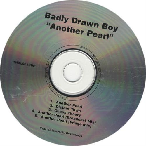 "Badly Drawn Boy Another Pearl CD single (CD5 / 5"") UK BDWC5AN200759"