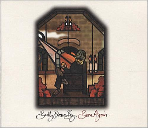 "Badly Drawn Boy Born Again - Sealed CD single (CD5 / 5"") UK BDWC5BO230315"