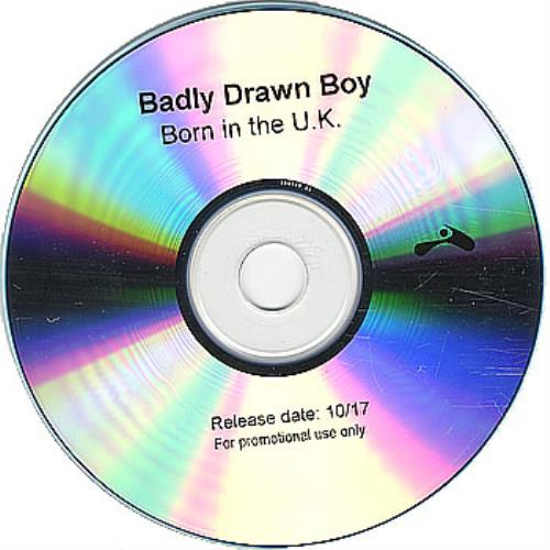 Badly Drawn Boy Born In The U.K. CD-R acetate US BDWCRBO379863