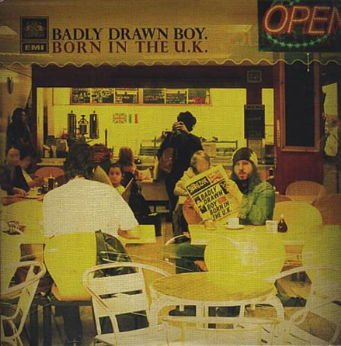 Badly Drawn Boy Born In The U.K. CD album (CDLP) US BDWCDBO382077