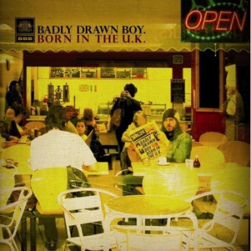 Badly Drawn Boy Born In The UK vinyl LP album (LP record) UK BDWLPBO375513
