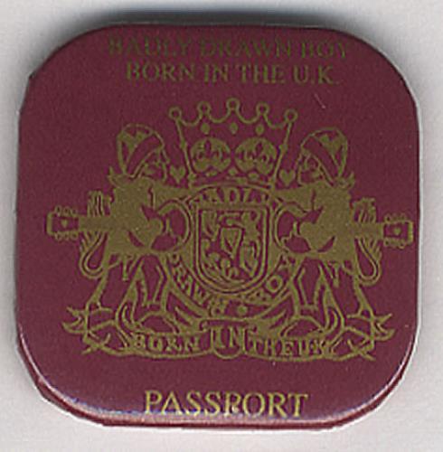 Badly Drawn Boy Born In The UK badge UK BDWBGBO406774