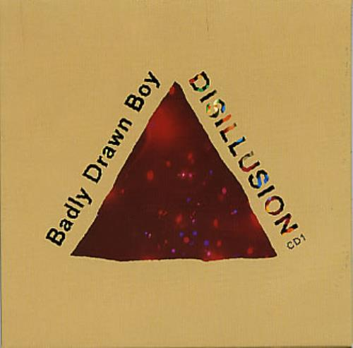 Badly Drawn Boy Disillusion 2-CD single set (Double CD single) UK BDW2SDI164732