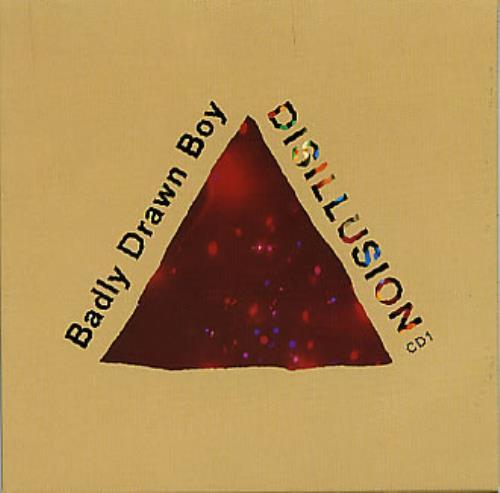Badly Drawn Boy Disillusion 2-CD single set (Double CD single) UK BDW2SDI164732