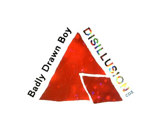 "Badly Drawn Boy Disillusion CD single (CD5 / 5"") UK BDWC5DI554724"