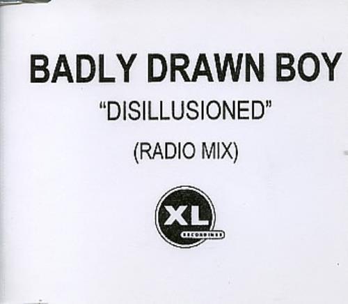 Badly Drawn Boy Disillusioned CD-R acetate UK BDWCRDI163646