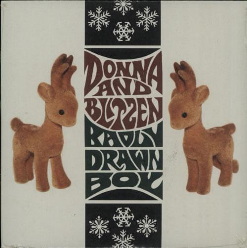 "Badly Drawn Boy Donna And Blitzen - Sealed 7"" vinyl single (7 inch record) UK BDW07DO210588"