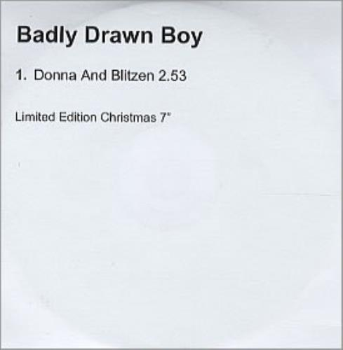 Badly Drawn Boy Donna Und Blitzen CD-R acetate UK BDWCRDO206721