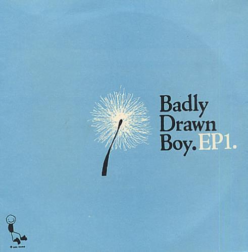 "Badly Drawn Boy EP1 7"" vinyl single (7 inch record) UK BDW07EP332788"